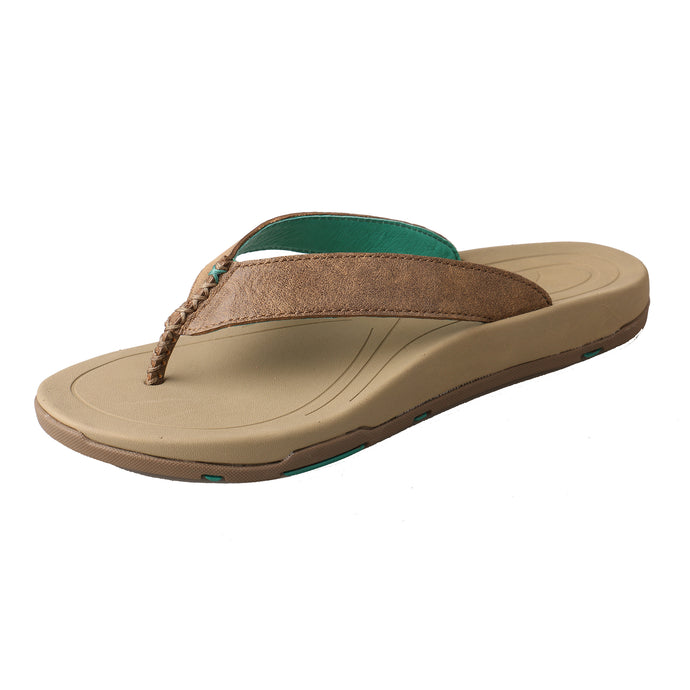 Picture of front outside of Women's Twisted X Sandal WSD0005