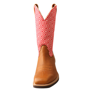 Picture of outside of Women's Twisted X Top Hand Boot WTH0018