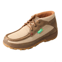 Load image into Gallery viewer, Picture of front outside of Women's Twisted X Chukka Driving Moc with CellStretch WXC0002