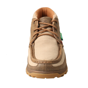Picture of outside of Women's Twisted X Chukka Driving Moc with CellStretch WXC0002