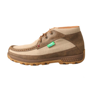 Picture of front of Women's Twisted X Chukka Driving Moc with CellStretch WXC0002