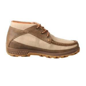 Picture of heel of Women's Twisted X Chukka Driving Moc with CellStretch WXC0002