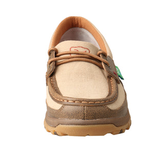 Picture of outside of Women's Twisted X Boat Shoe Driving Moc with CellStretch WXC0003