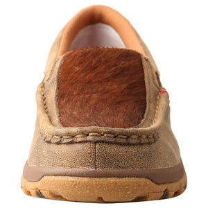 Picture of outside of Women's Twisted X CellStretch Slip-On Driving Moc WXC0011