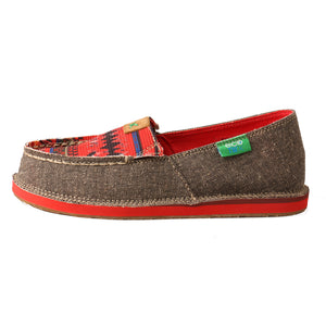 Picture of front of Kid's Twisted X Slip-On Loafer YCL0002