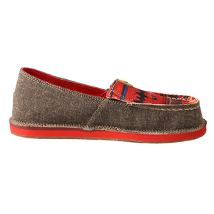 Picture of heel of Kid's Twisted X Slip-On Loafer YCL0002