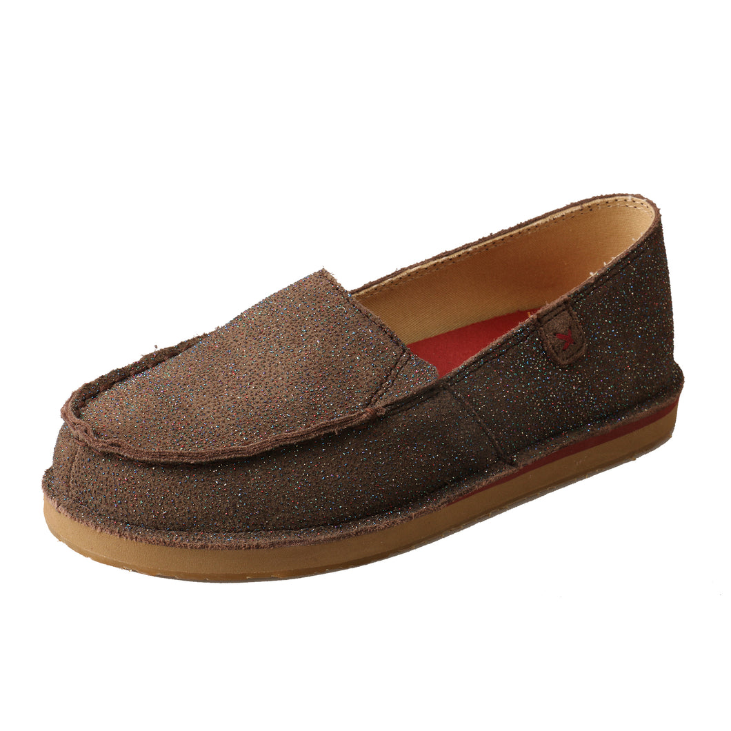 Picture of front outside of Kid's Twisted X Slip-On Loafer YCL0003