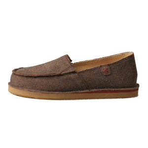 Picture of front of Kid's Twisted X Slip-On Loafer YCL0003