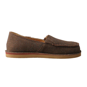 Picture of heel of Kid's Twisted X Slip-On Loafer YCL0003