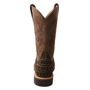 Picture of inside of Kid's Twisted X Western Work Boot YCW0011