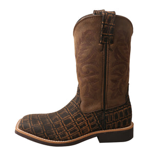 Picture of front of Kid's Twisted X Western Work Boot YCW0011