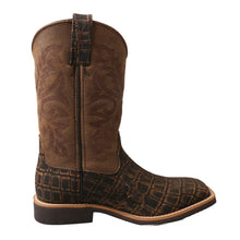 Load image into Gallery viewer, Picture of heel of Kid's Twisted X Western Work Boot YCW0011