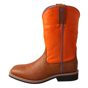 Picture of front of Kid's Twisted X Western Work Boot YCW0012