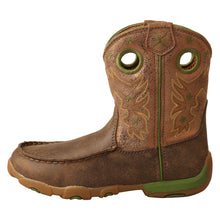 Load image into Gallery viewer, Picture of front of Kid's Twisted X Driving Moc Boot YDB0003