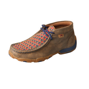 Picture of front outside of Kid's Twisted X Chukka Driving Moc YDM0038