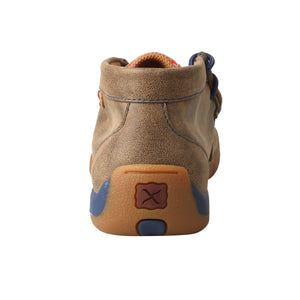 Picture of inside of Kid's Twisted X Chukka Driving Moc YDM0038