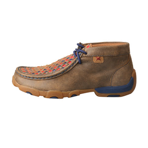 Picture of front of Kid's Twisted X Chukka Driving Moc YDM0038