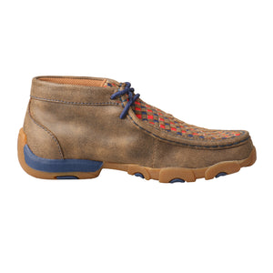 Picture of heel of Kid's Twisted X Chukka Driving Moc YDM0038