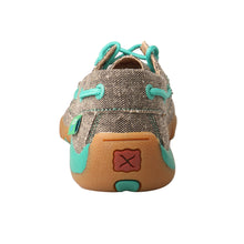 Load image into Gallery viewer, Picture of inside of Kid's Twisted X Boat Shoe Driving Moc YDM0040