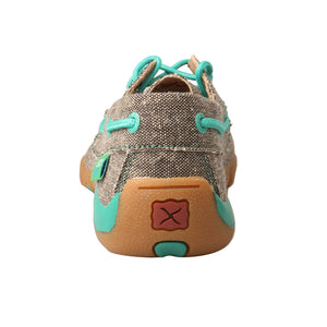 Picture of inside of Kid's Twisted X Boat Shoe Driving Moc YDM0040