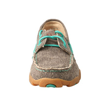 Load image into Gallery viewer, Picture of outside of Kid's Twisted X Boat Shoe Driving Moc YDM0040
