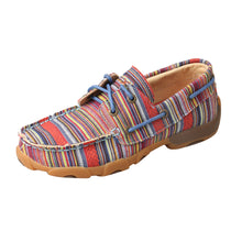 Load image into Gallery viewer, Picture of front outside of Kid's Twisted X Boat Shoe Driving Moc YDM0041