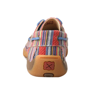 Picture of inside of Kid's Twisted X Boat Shoe Driving Moc YDM0041