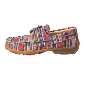 Picture of front of Kid's Twisted X Boat Shoe Driving Moc YDM0041