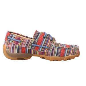 Picture of heel of Kid's Twisted X Boat Shoe Driving Moc YDM0041