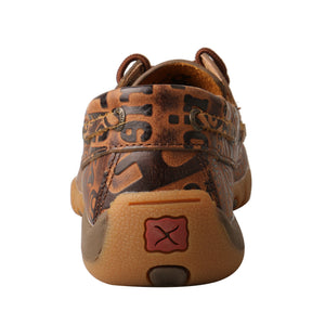 Picture of inside of Kid's Twisted X Boat Shoe Driving Moc YDM0043