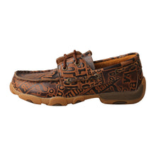 Load image into Gallery viewer, Picture of front of Kid's Twisted X Boat Shoe Driving Moc YDM0043