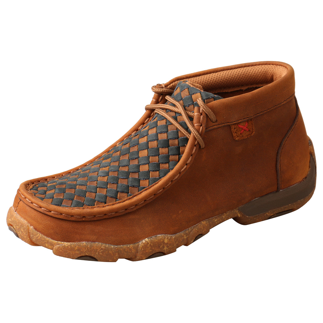 Picture of front outside of Kid's Twisted X Chukka Driving Moc YDM0046