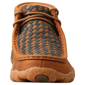 Picture of outside of Kid's Twisted X Chukka Driving Moc YDM0046