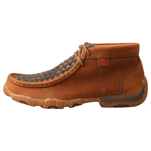 Picture of front of Kid's Twisted X Chukka Driving Moc YDM0046
