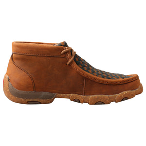 Picture of heel of Kid's Twisted X Chukka Driving Moc YDM0046