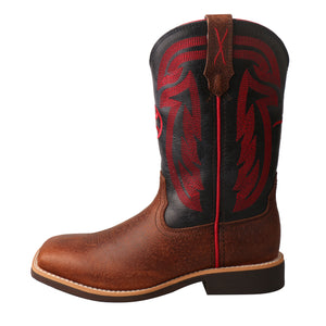 Picture of front of Kid's Twisted X Hooey Boot YHY0008