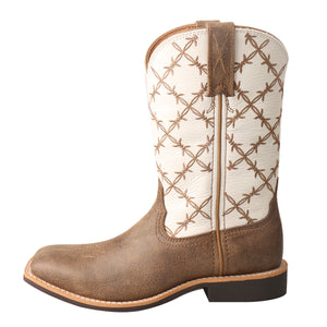 Picture of front of Kid's Twisted X Top Hand Boot YTH0010