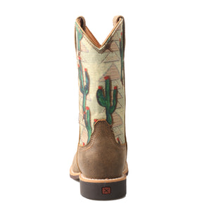 Picture of inside of Kid's Twisted X Top Hand Boot YTH0012