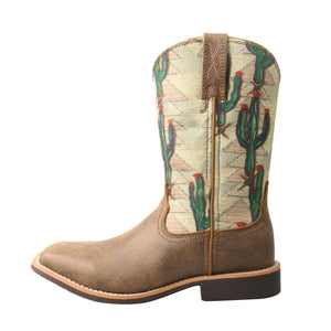 Picture of front of Kid's Twisted X Top Hand Boot YTH0012