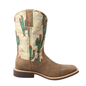 Picture of heel of Kid's Twisted X Top Hand Boot YTH0012