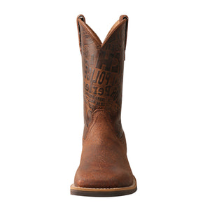 Picture of outside of Kid's Twisted X Top Hand Boot YTH0013
