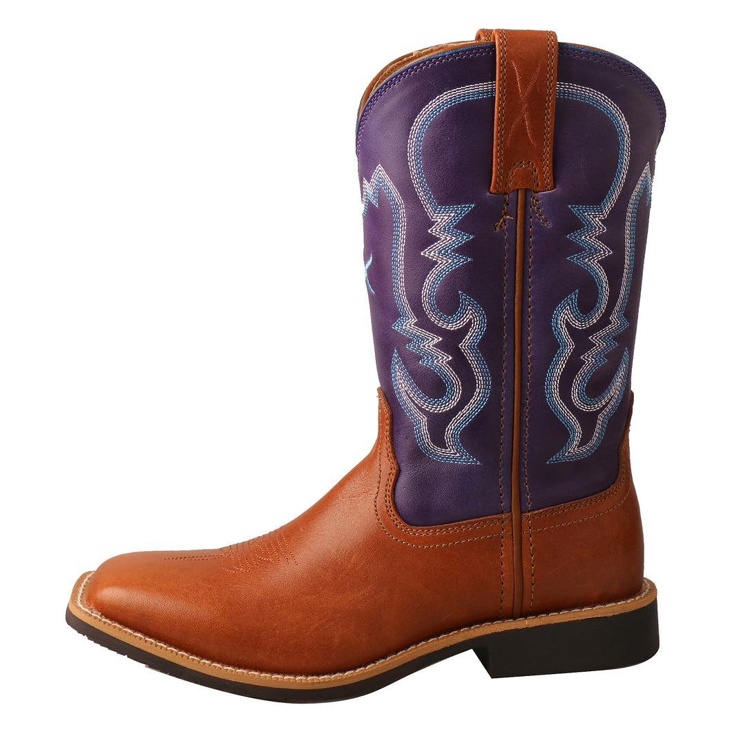 Picture of front of Kid's Twisted X Top Hand Boot YTH0014