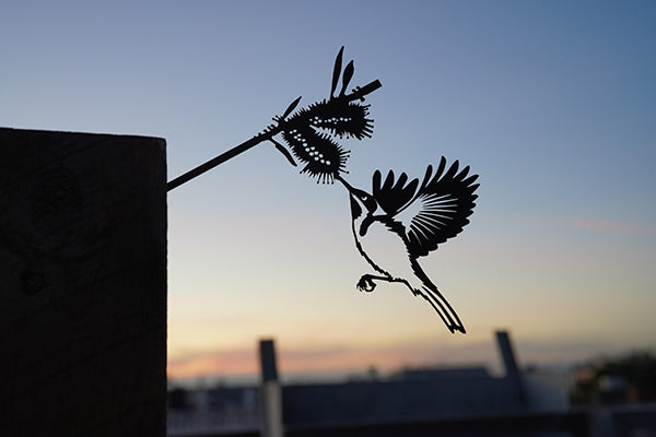 Metalbird Australia - Garden Decor and Art - Banksy Inspired