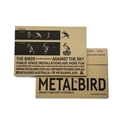 Metalbird - Birds in Trees - Swallows - Regular