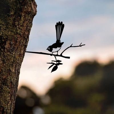 Metalbird - Birds in Trees - Willie Wagtail - Regular