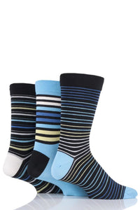 Mens 1 Pair SockShop Colour Burst Bamboo Socks