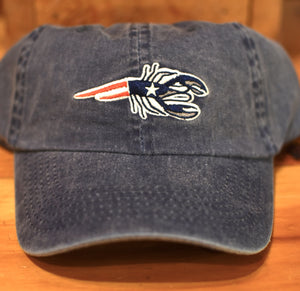 New England Denim Lobster Hat