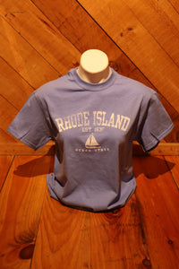 Rhode Island Sailboat T-Shirt