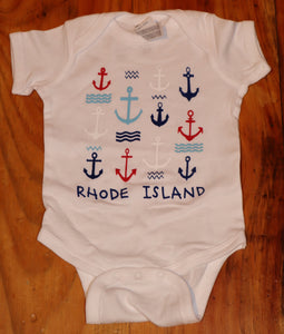 RI Anchors Onesie
