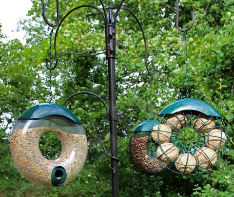 3pcs Hanging Wild Bird Feeder